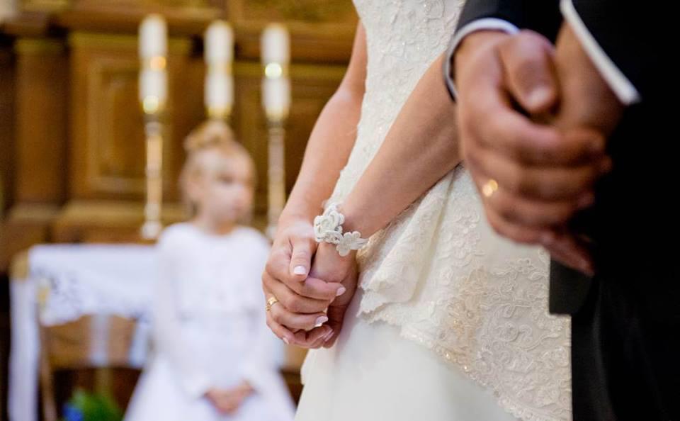 Bransoletka ślubna sutasz ivory