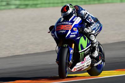Hasil Lengkap Kualifikasi MotoGP Valencia, Spanyol 2015