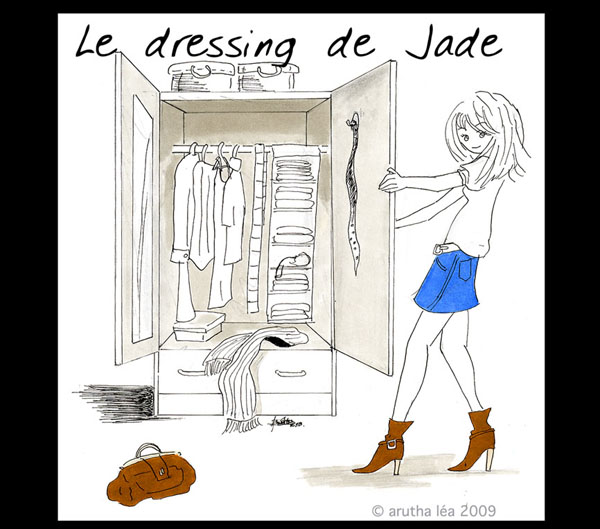 Le vide dressing de Jade