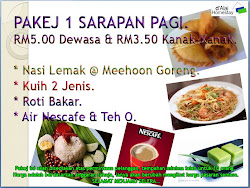 PAKEJ SARAPAN PAGI