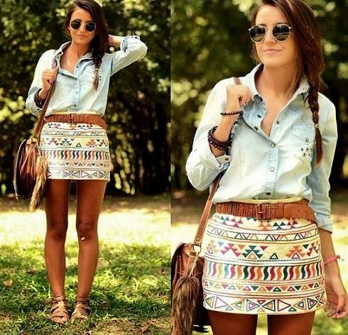 Yeni Moda Bayan Mini Etek Modelleri