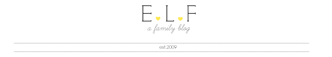 ELF: A Family Blog