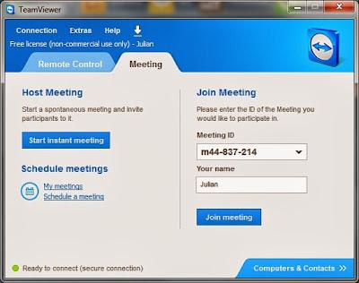 meeting ID teamviewer