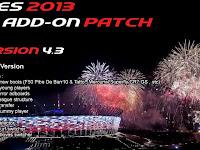 Add-on Patch v 4.3 untuk PES 2013 PESEdit 6.0
