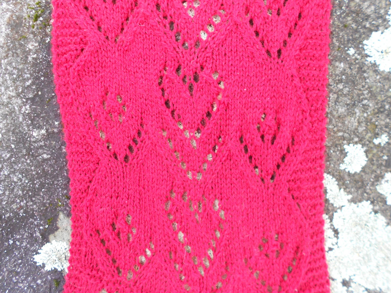 Merry Melody Designs: Sweetheart Valentine Scarf