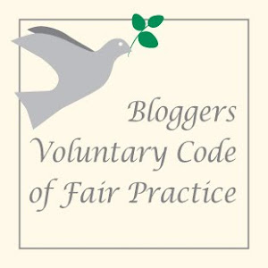 Bloggers Voluntary Code of Practice