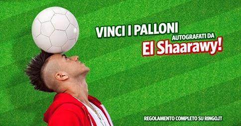vinci i palloni e play station con ringo e el shaarawy
