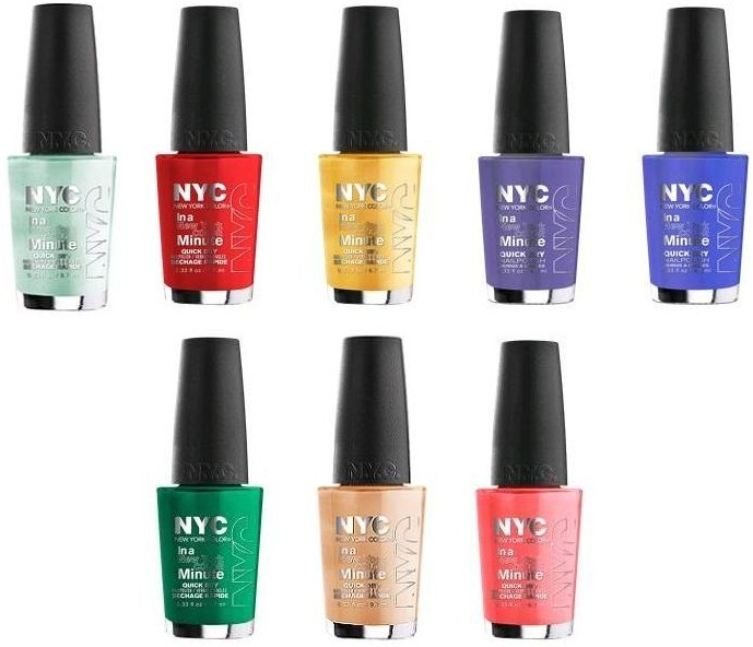 New York Summer Nail Polish: (UPDATED) First Look: NYC Summer 2014 Limited Edition City