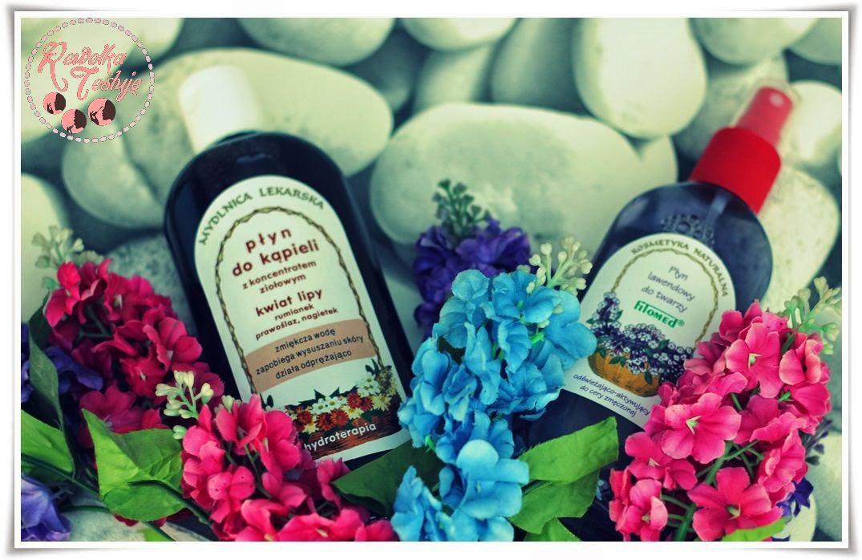 Płyn do kąpieli z kwiatem lipy - ziołowe kosmetyki Fitomed ciąg dalszy przyjemnych testów...