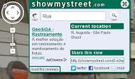 localizador de endereços