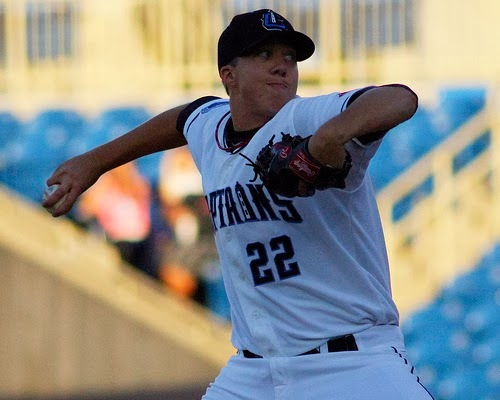 Lake County Captains, baseball, pitching, D.J. Brown