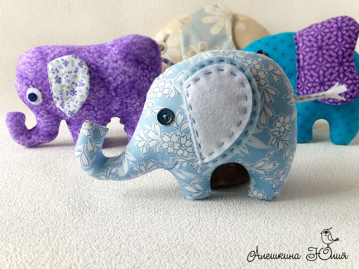 Игрушка слон. 4