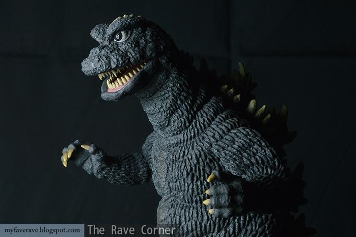 The Rave Corner X Plus Toho Large Monster Series Godzilla