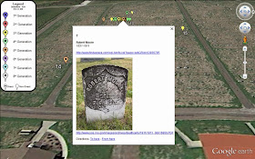 Placemarkers... Cemeteries