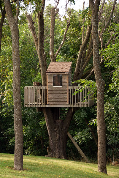 I love tree house how to build a treehouse by - Casas en arboles para ninos ...