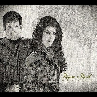 Capa oficial - CD Nossa história de Rayssa e Ravel