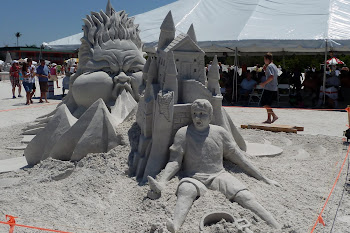 Sand Sculpture Event Ft. Myers Beach, Florida