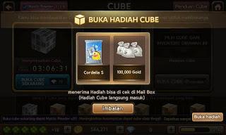 Cara Mendapatkan Kartu Cordelia dari Ancient Cube, Blognya Alan.
