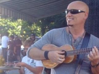 Jimmy Stafford with ukulele
