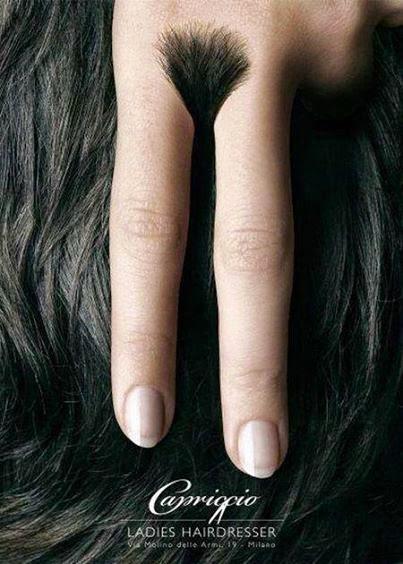 Publicidad Creativa: Capriccio Ladies Hairdresser