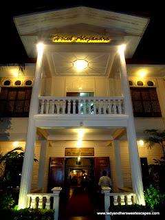 outside Hotel Alejandro Tacloban