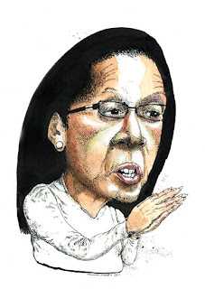 caricature mayor linda thompson harrisburg pa