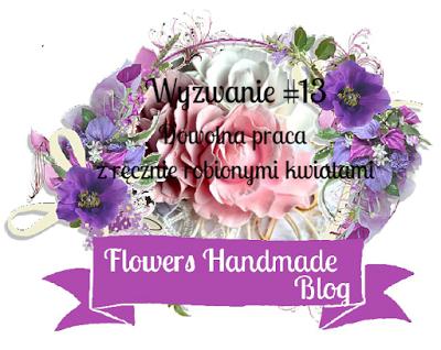 Dowolna praca z ręcznie robionymi kwiatami