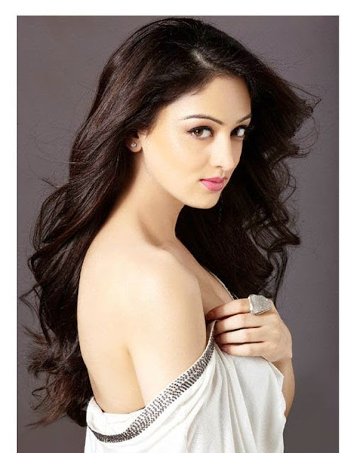 Sandeepa Dhar Santoor Soap Model PhotoShoot
