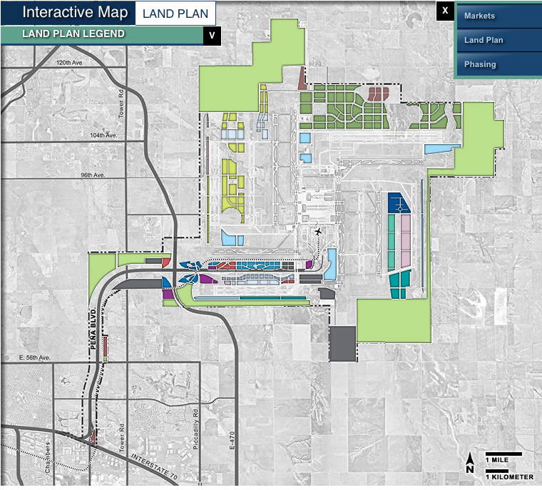 About Airport Planning Denver Airport Master Plan Den