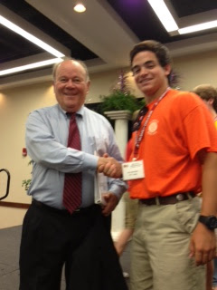 Montgomery Catholic Students attend Boys and Girls State at the University of Alabama 1