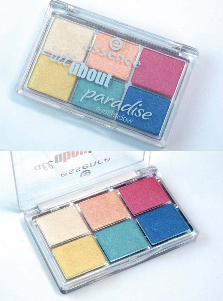 Essence All About Paradise Eyeshadow Palette: Review and Swatches