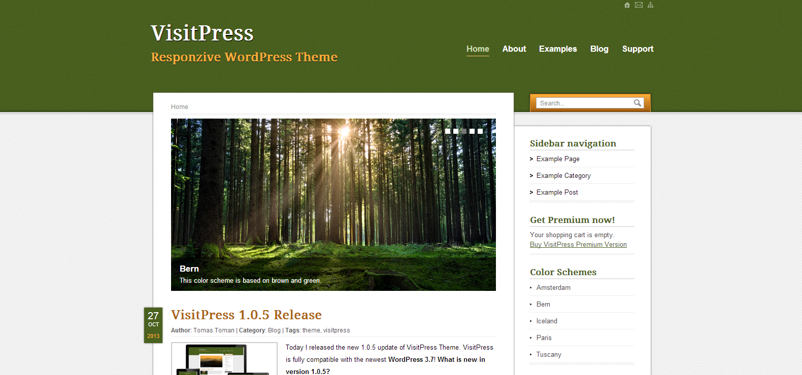 VisitPress Free Responsive WordPress Theme