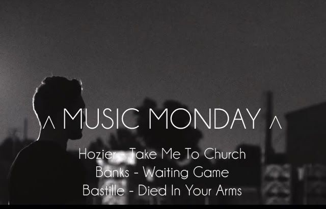 Music Monday - Hozier, Banks & Bastille