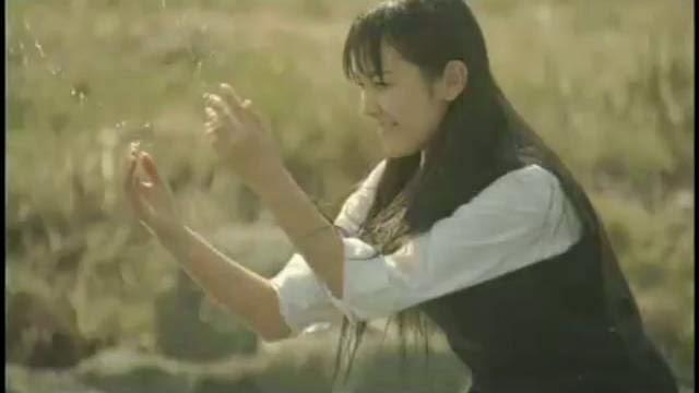Publicité pollution japon, une baignade dans les eau japonaises