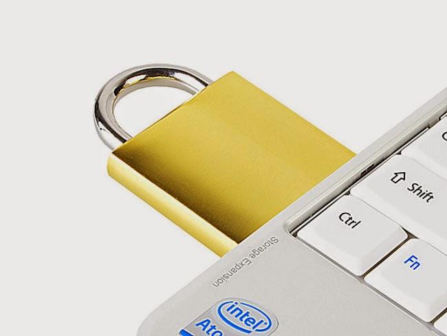 lock computer using usb drive