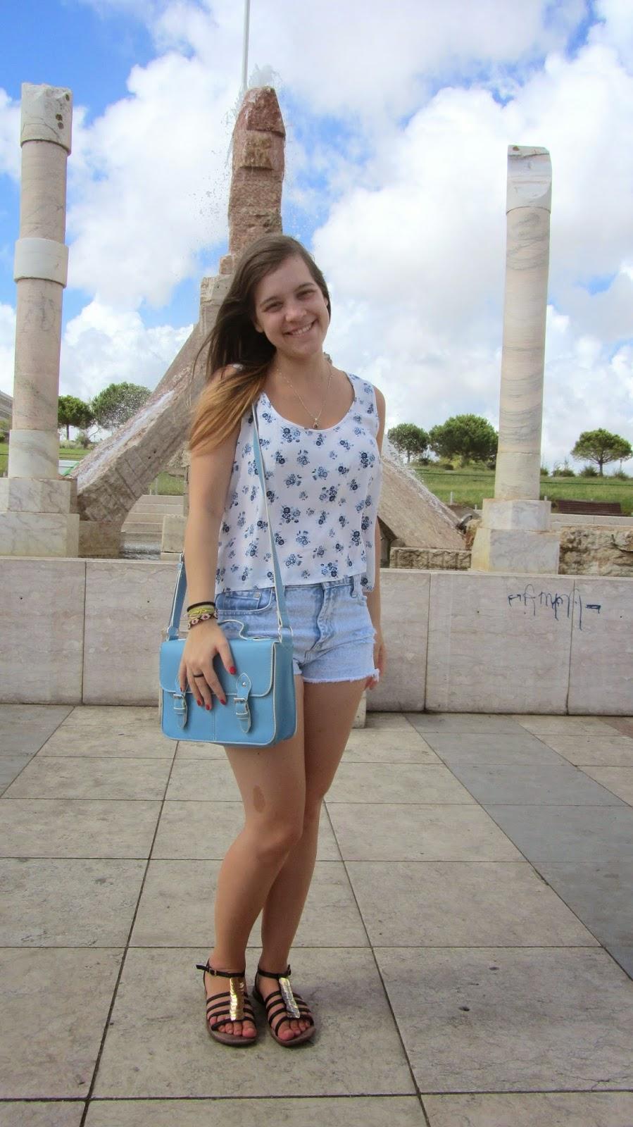 Clothes & Dreams: OOTD x3: Boa Lisboa: OOTD #1 full outfit
