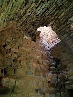 Detall de l'interior del Molí d'Altimires