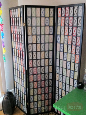 DIY Room Divider Revamp via www.whatmandyloves.com