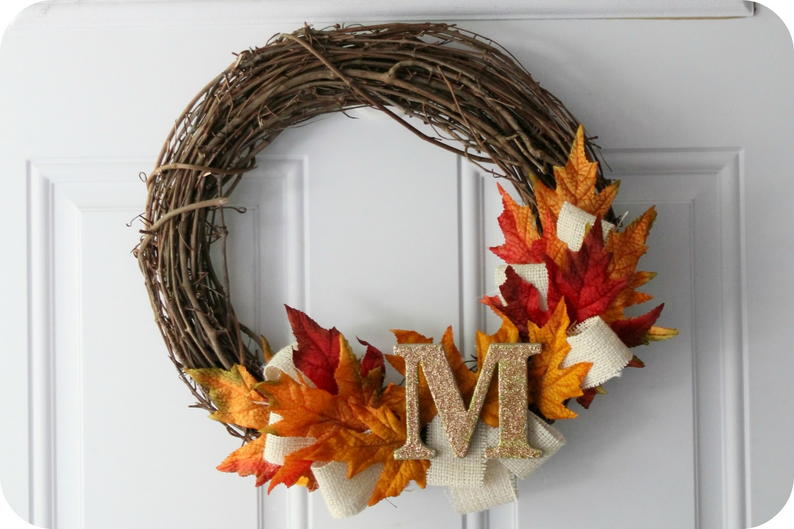 Little Lovelies Tutorial Fall Wreath