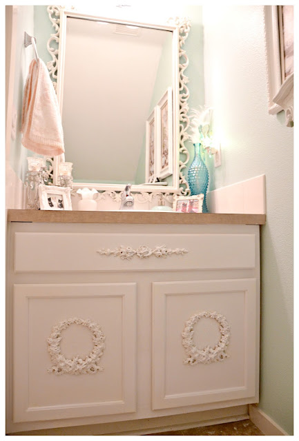 Model  Home Shabby Chic Bathroom Furniture Shabby Chic Bathroom Furniture