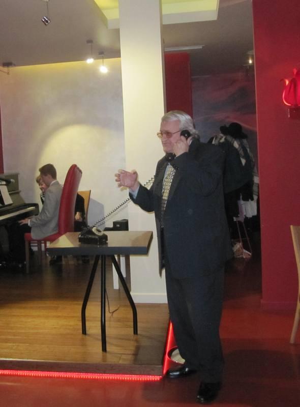 Podczas występu w restauracji Czerwona w Chorzowie
