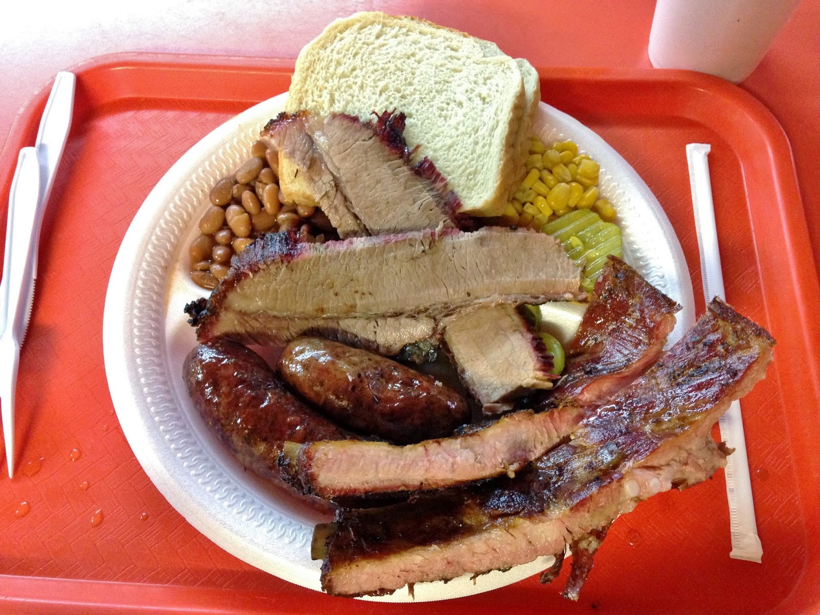 Texas Trinity plate from Gonzales