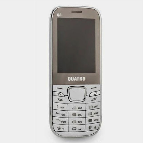 Quatro Q3 Çift Hatlı Cep Telefonu