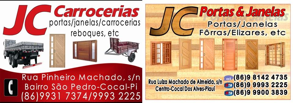 JC CARROCERIAS E PORTAS E JANELAS