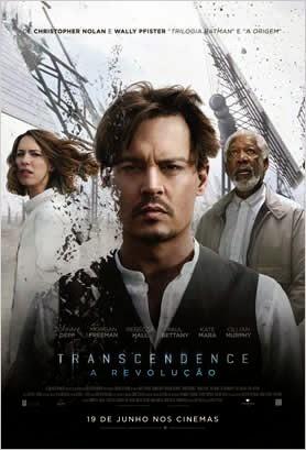 """Poster do filme """"Transcendence: A Revolução"""""""