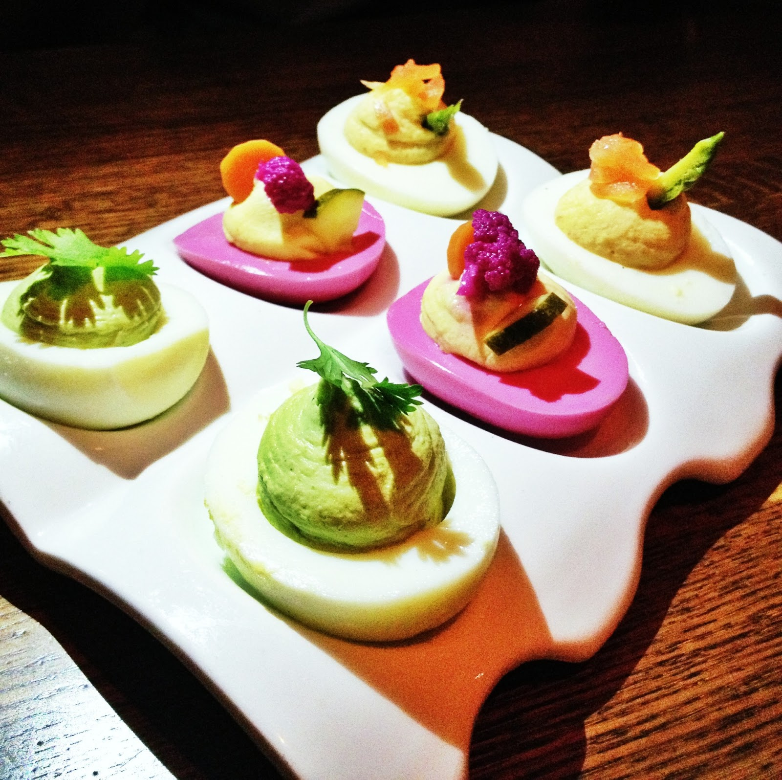 Trio of Deviled Eggs (Large)