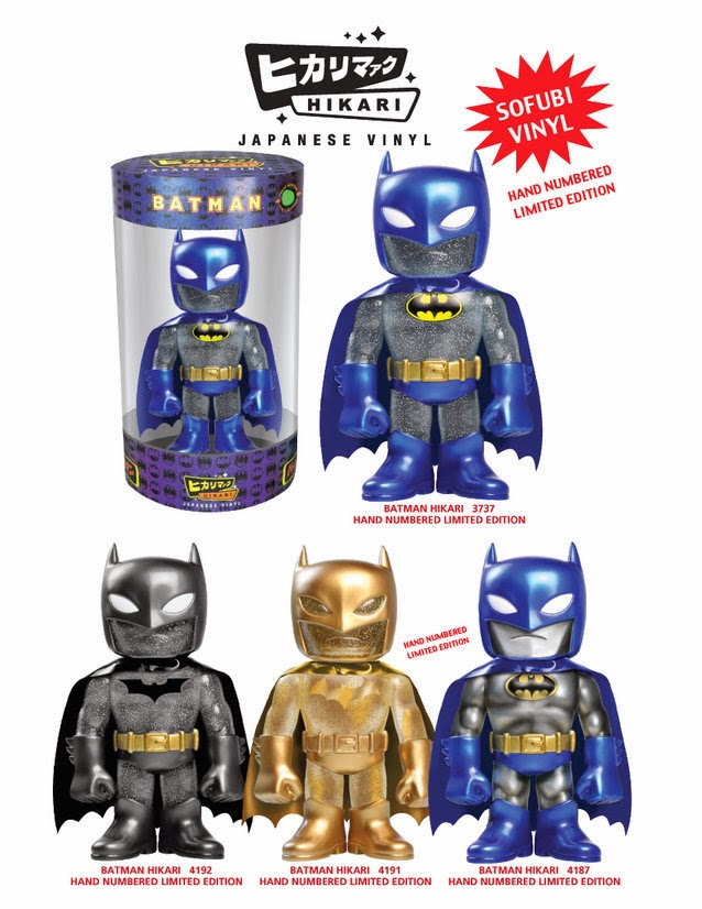 Batman Hikari Japanese Vinyl Figures by Funko