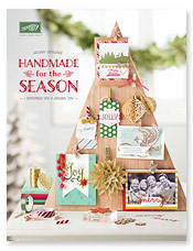 The New Stampin' Up! Holiday Catalogue is here!