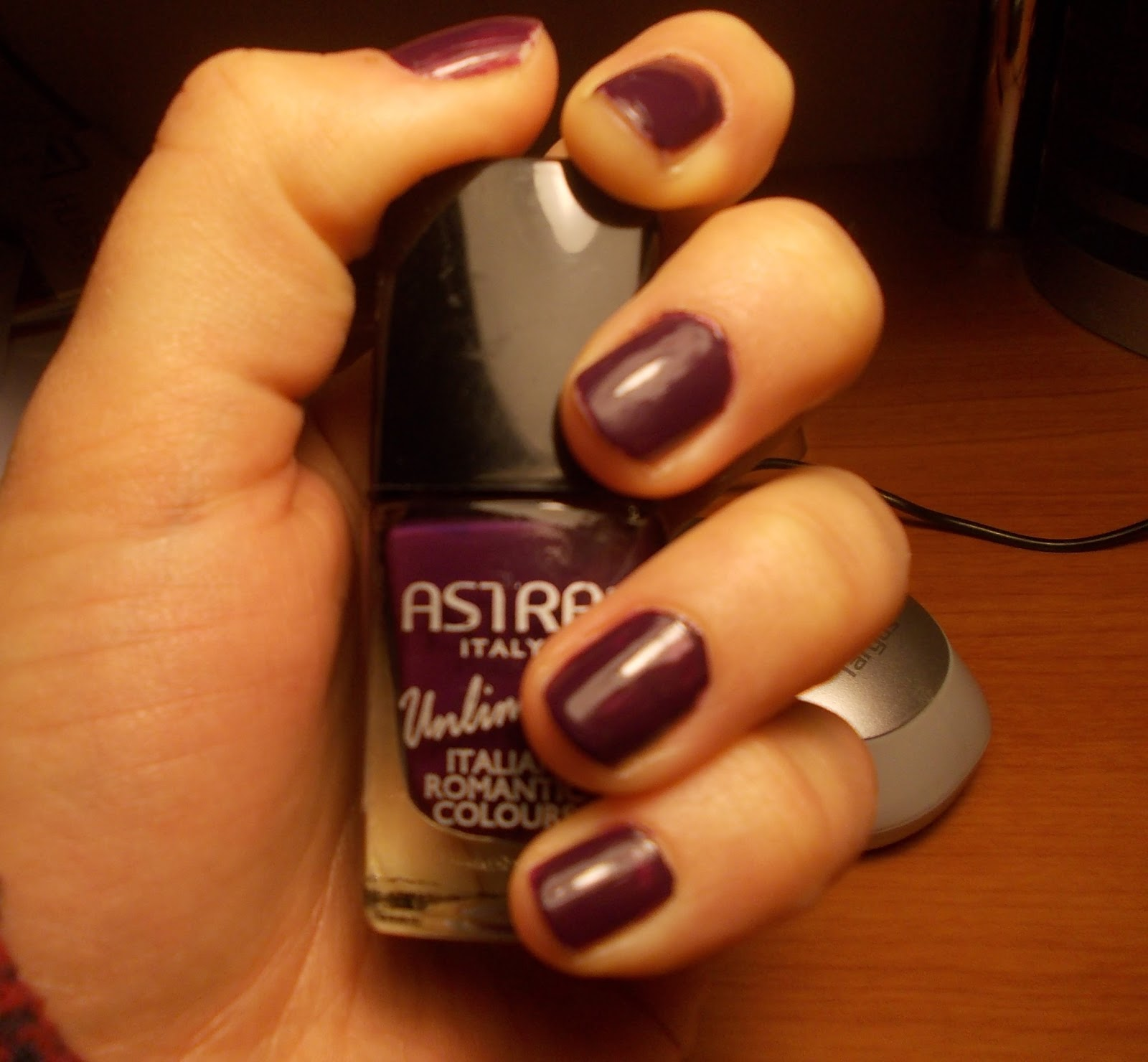 NOTD - Astra Romantic Italian Colours n°87