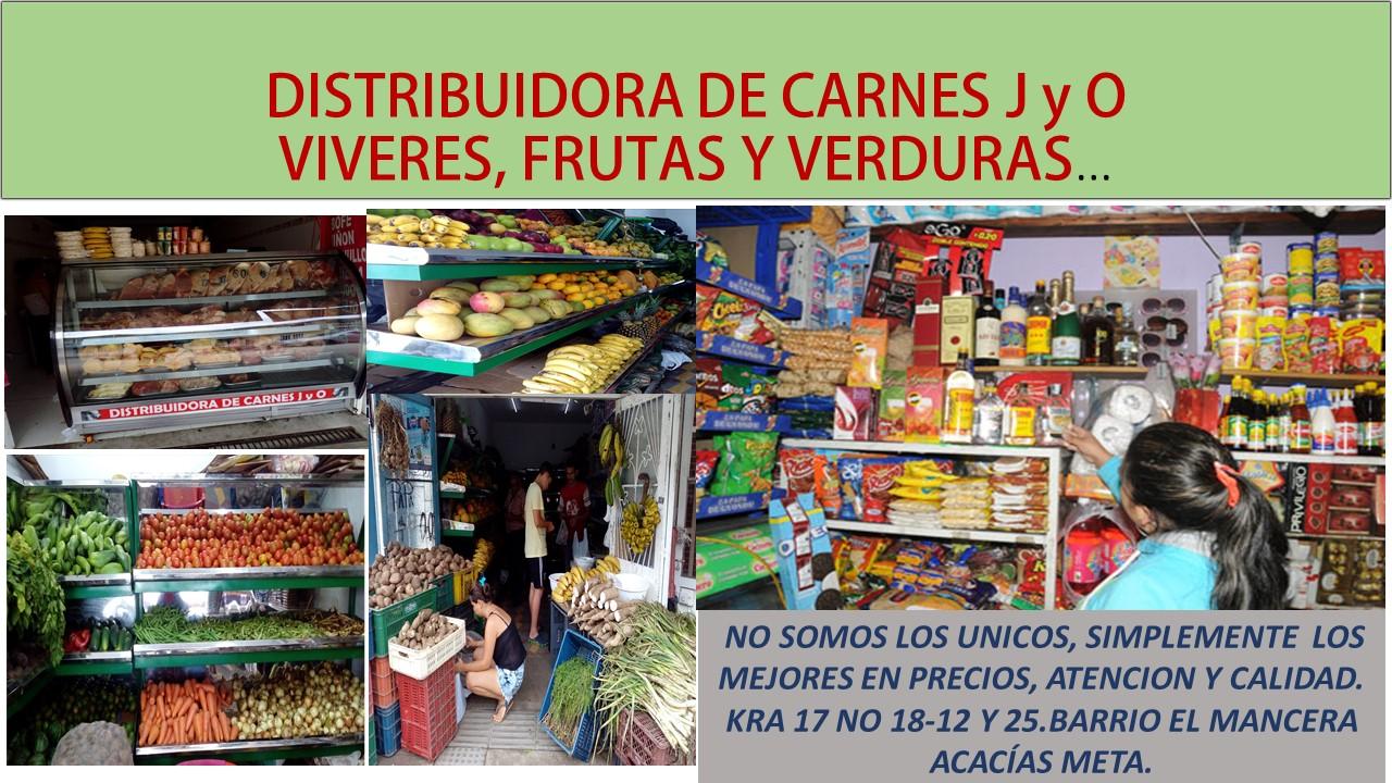 EN CARNES, VERDURAS, VIVERES... LO MEJOR.